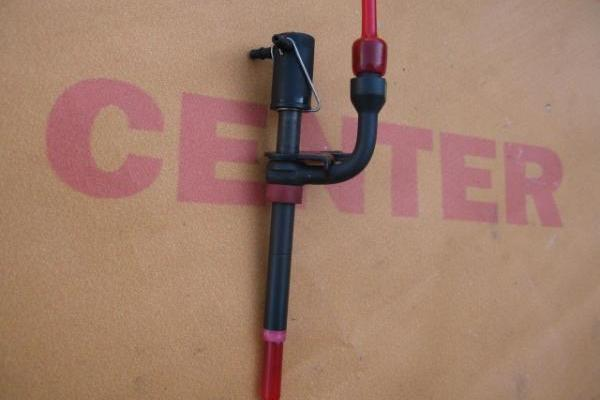 Injector dunne bordeau rood Ford Transit 1995-1998