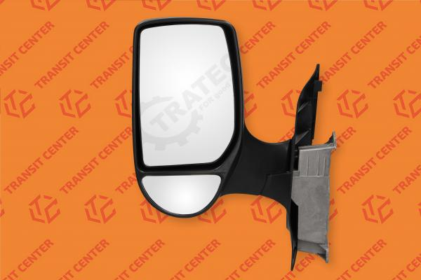 Linker autospiegel korte arm Ford Transit 2000-2013 manual Trateo